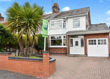 Thumbnail 3 bed semi-detached house for sale in Foston Avenue, Horninglow, Burton-On-Trent
