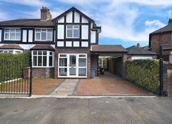 Thumbnail 3 bed semi-detached house to rent in Stuart Avenue, Trentham, Stoke-On-Trent