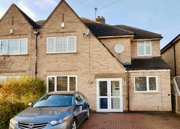 Thumbnail 4 bed semi-detached house for sale in Brookside Drive, Oadby, Leicester