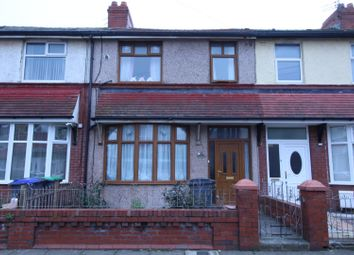 Thumbnail 3 bed terraced house for sale in The Crescent, Blackpool, Lancashire