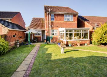 Thumbnail 3 bed detached house for sale in Burrow Drive, Lakenheath, Brandon