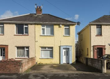 Thumbnail 3 bed semi-detached house for sale in Stockton Road, Newport