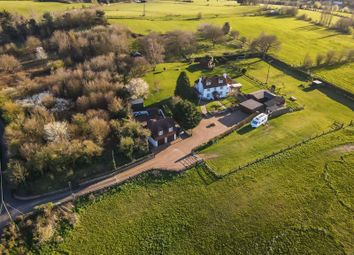 Thumbnail 4 bed farmhouse for sale in Gildenhill Road, Swanley
