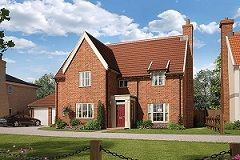Thumbnail 5 bedroom detached house for sale in Broomfield Road, Stoke Holy Cross