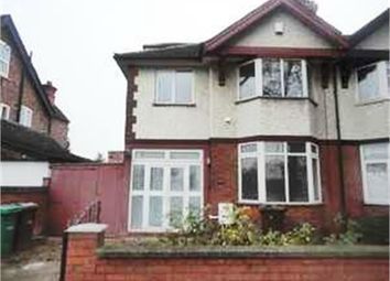 Thumbnail 6 bed semi-detached house to rent in Clinton Terrace, Derby Road, Nottingham