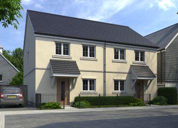 Thumbnail 3 bedroom semi-detached house for sale in Trispen Meadow, Trispen