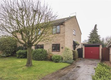 Thumbnail 3 bed detached house to rent in Icknield Close, Cheveley, Newmarket