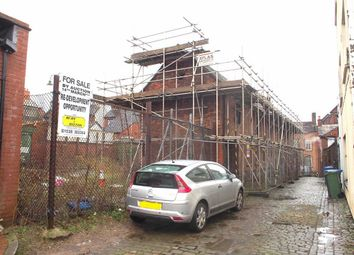 Thumbnail Land for sale in Silk Street, Leek, Staffordshire