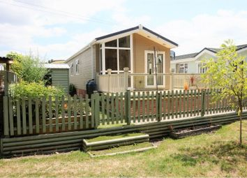 Thumbnail 2 bed mobile/park home for sale in Mill On The Mole Residential Park, South Molton
