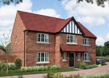 "Thumbnail 5 bed detached house for sale in ""The Truro"" at Acton Court, Burton Road, Streethay, Lichfield"
