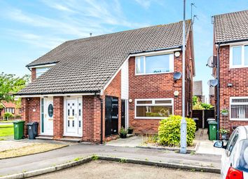 Thumbnail 2 bed flat for sale in Dunecroft, Denton, Manchester