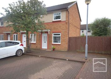 Thumbnail 2 bed end terrace house for sale in Young Place, Uddingston, Glasgow