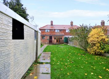 Thumbnail 3 bed semi-detached house for sale in Rectory Road, Tivetshall St. Mary, Norwich