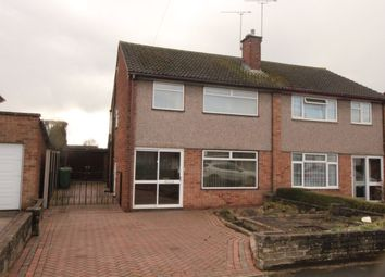 Thumbnail 3 bed semi-detached house for sale in Porlock Avenue, Stafford