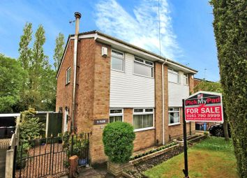 Thumbnail 3 bed semi-detached house for sale in Jonquil Drive, Worsley