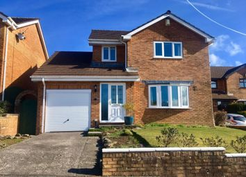 Thumbnail 4 bed detached house for sale in Cae Caradog, Caerphilly