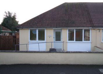 Thumbnail 2 bed bungalow to rent in Vale Crescent, St Georges, Weston Super Mare