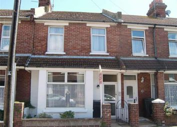 Thumbnail 3 bed terraced house to rent in Annington Road, Eastbourne, East Sussex