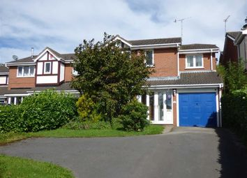 Thumbnail 4 bedroom detached house for sale in Silverstone Crescent, Packmoor, Stoke-On-Trent