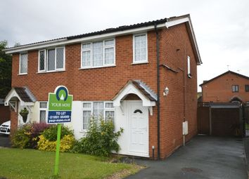 Thumbnail 2 bed semi-detached house to rent in Aston Close, Oswestry