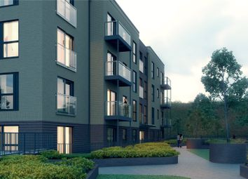 Thumbnail 1 bedroom flat for sale in Brookland Court, Saxon Square, Kimpton Road, Luton, Bedfordshire