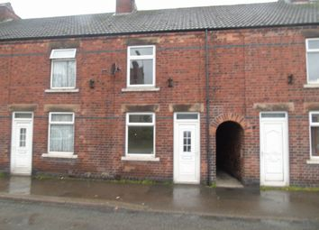 Thumbnail 2 bed terraced house to rent in Market Street, South Normanton, Derbyshire