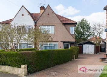 Thumbnail 3 bed semi-detached house for sale in Grange Close, Edgware