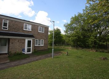 Thumbnail 3 bedroom end terrace house for sale in Pipers Close, Haverhill