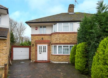 Thumbnail 3 bed semi-detached house for sale in Cheyneys Avenue, Canons Park, Edgware