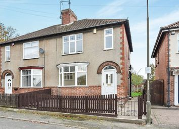 Thumbnail 3 bed semi-detached house for sale in Park Drive, Swanwick, Alfreton