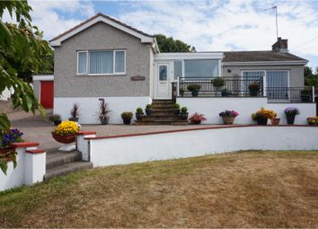 Thumbnail 3 bedroom detached bungalow for sale in Porthdafarch Road, Holyhead
