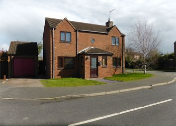 Thumbnail 4 bed detached house for sale in Saxon Way, Bourne, Lincs