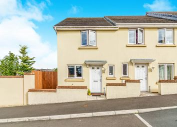 Thumbnail 2 bedroom end terrace house for sale in Bridge View, Plymouth