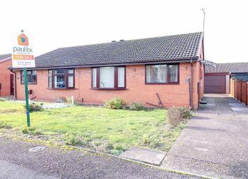 Thumbnail 2 bed semi-detached bungalow for sale in Deacon Drive, Scunthorpe