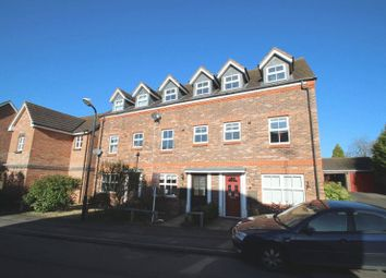 Thumbnail 4 bed town house for sale in Rowe Close, Rugby