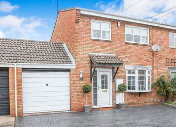 Thumbnail 3 bed semi-detached house for sale in Cutworth Close, Sutton Coldfield