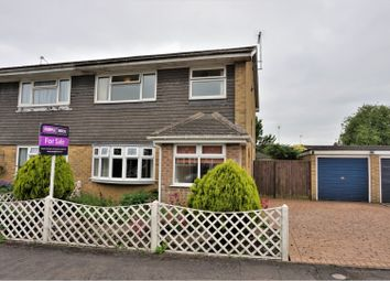 Thumbnail 3 bed semi-detached house for sale in Dands Close, Banbury