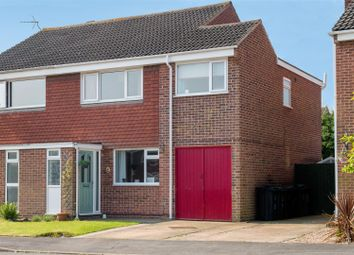 Thumbnail 3 bed semi-detached house for sale in Highfields Close, Shepshed, Loughborough