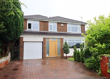 Thumbnail 4 bed detached house for sale in Richmond Drive, Worsley, Manchester