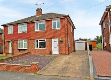 Thumbnail 3 bed semi-detached house for sale in Clarborough Drive, Arnold, Nottingham