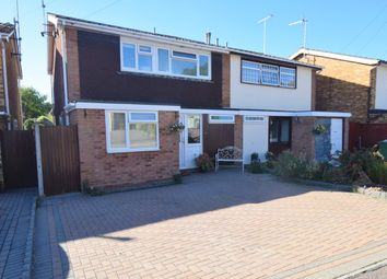 Thumbnail 3 bed semi-detached house for sale in Highfield Approach, Billericay