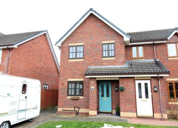 Thumbnail 3 bedroom semi-detached house for sale in Charles Parry Close, Oswestry