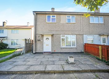 Thumbnail 3 bed end terrace house for sale in Queens Drive, Swindon