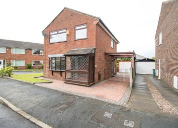 Thumbnail 3 bed detached house for sale in Matlock Close, Farnworth, Bolton