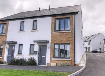 Thumbnail 3 bed end terrace house for sale in Broom Park, Okehampton