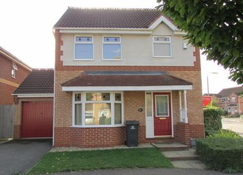 Thumbnail 3 bedroom detached house to rent in Balintore Rise, Peterborough