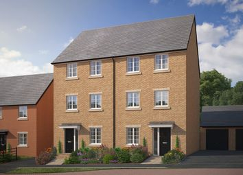 "Thumbnail 4 bed semi-detached house for sale in ""The Barrington"" at Bryony Road, Hamilton, Leicester"