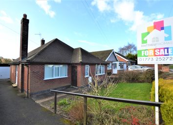Thumbnail 3 bed detached bungalow for sale in Cross Lane, Codnor