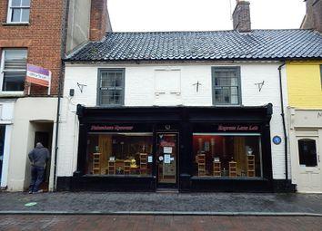 Thumbnail Retail premises for sale in 15-17 Norwich Street, Fakenham, Norfolk