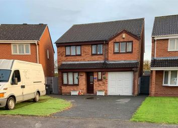 Thumbnail 5 bed detached house for sale in Barleyfields, Wem, Shrewsbury